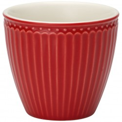 Latte cup Alice red