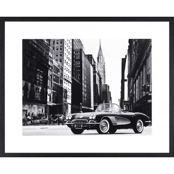 Wandbild Roadster in NYC