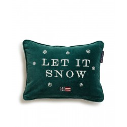 Let it Snow Sham green