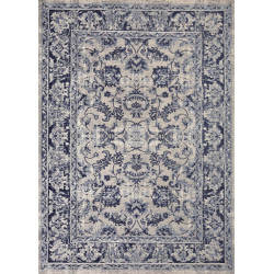 Teppich Tebriz antique blue